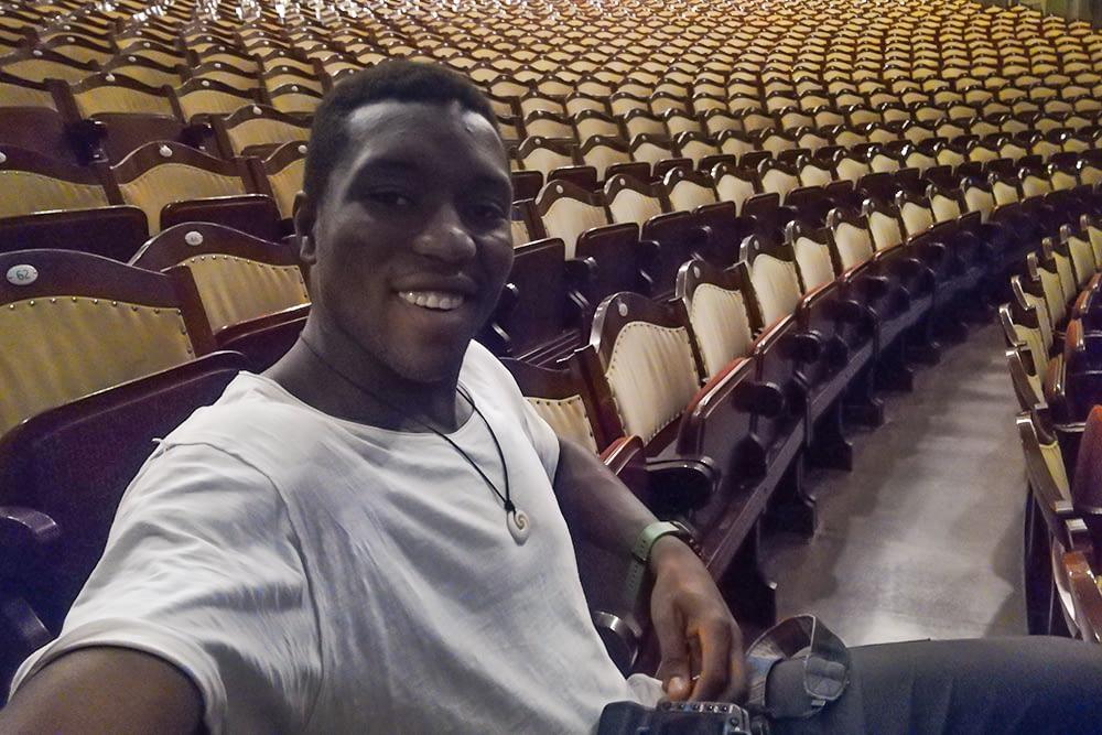 Ich allein im Prinzregententheater